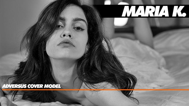 Maria K. Una bellezza che arriva dalla Siberia, la nuova modella di copertina