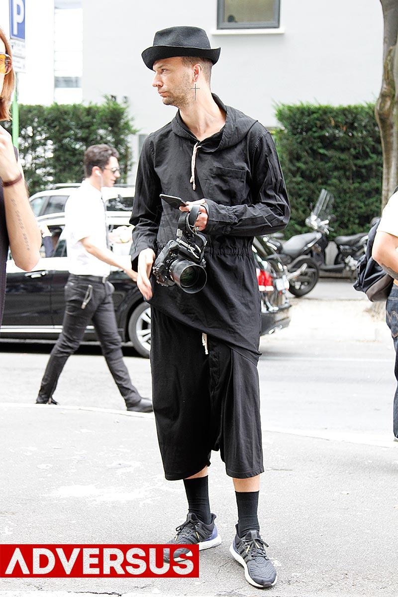 Fotografo streetstyle a Milano Moda Uomo