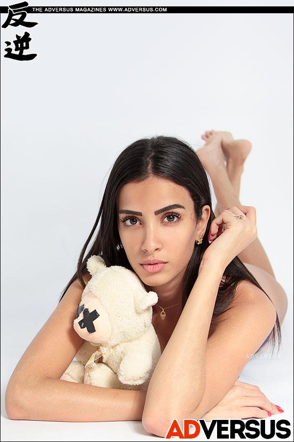 Cherifa Naffeti - Photo Alessio Cristianini - Model Agency: Major Model Management Milano - Lingerie Christies