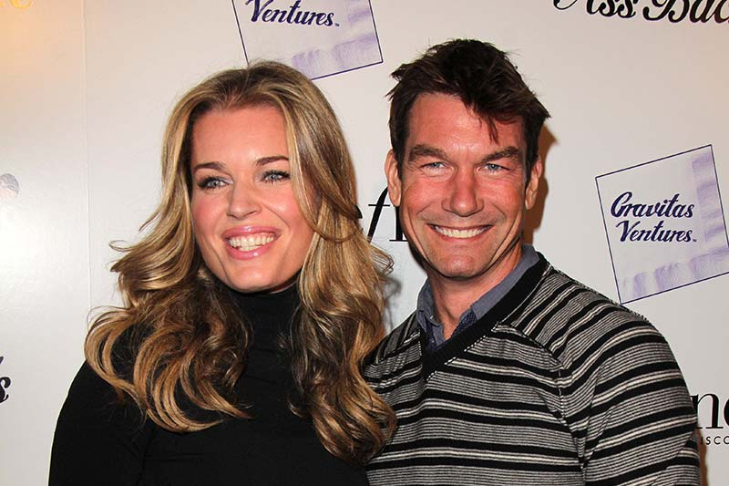 "Rebecca Romijn, Jerry O'Connell at the ""Ass Backwards"" Los Angeles Premiere, Vista Theater, Los Angeles, CA 10-30-13— Photo by s_bukley – Depositphotos.com"