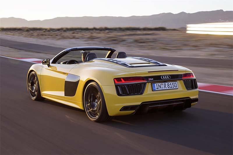 La Audi R8 Spyder