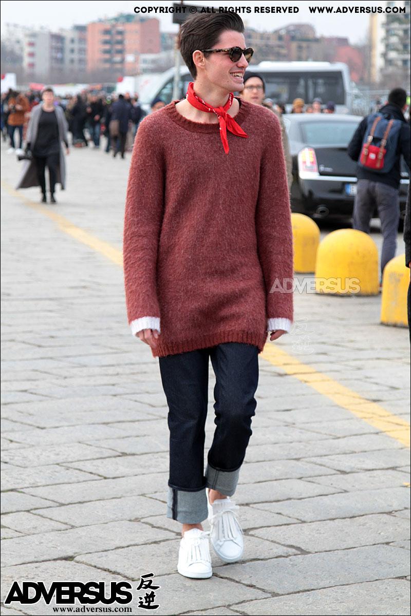 Trend jeans con risvolto