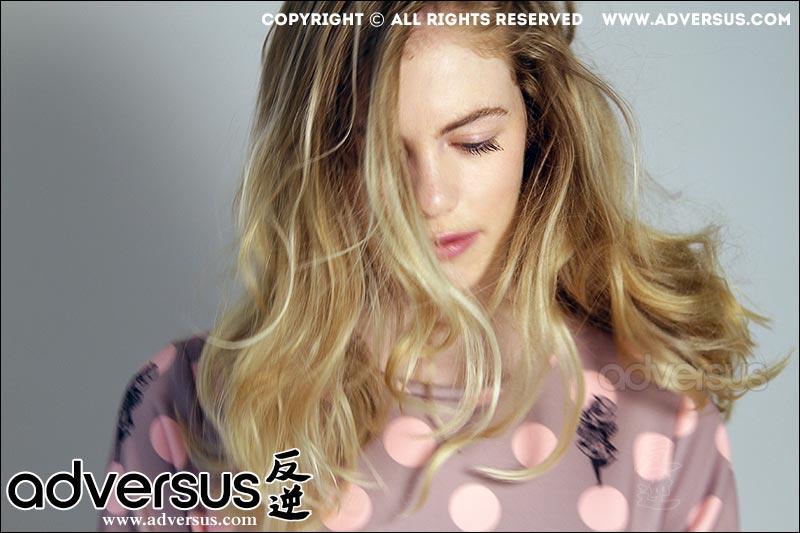 Lara Bienlein ADVERSUS Cover Model - Photo by Alessio Cristianini