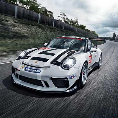 Nuova 911 GT3 Cup debutto al Salone di Parigi