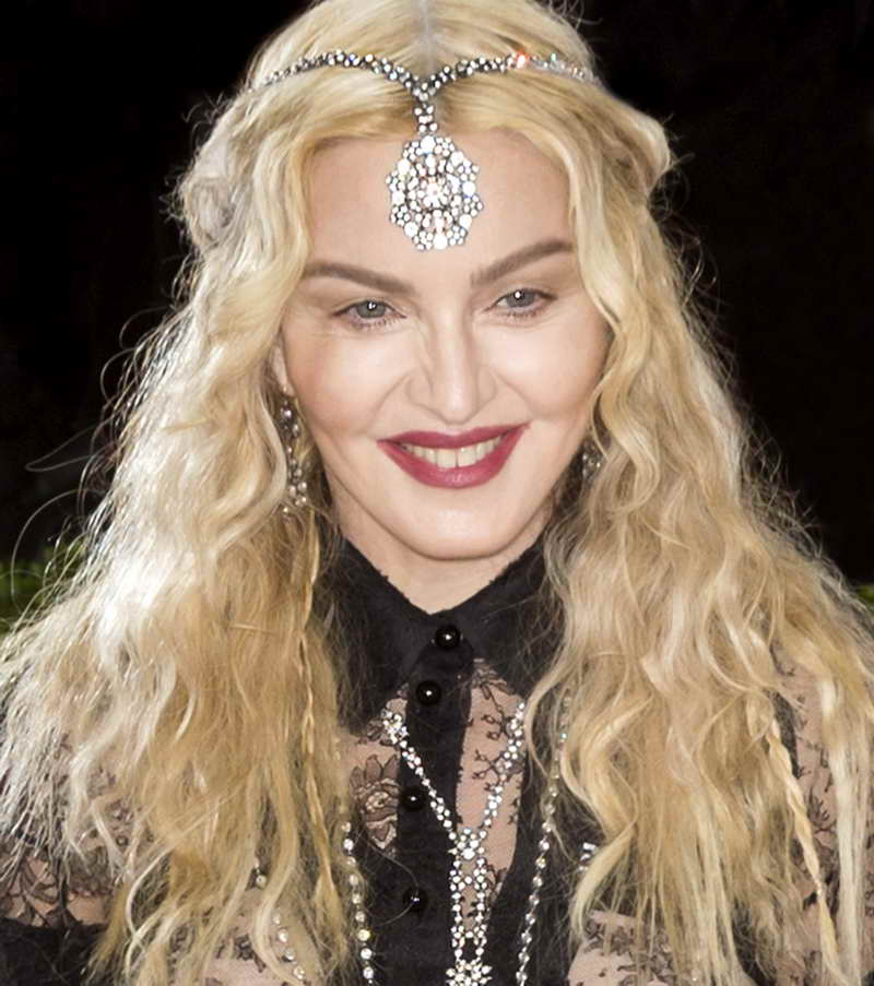 Madonna 2016 Met Gala