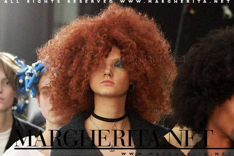 Tendenze capelli: big hair, Aigner SS 2017, ph. Mauro Pilotto