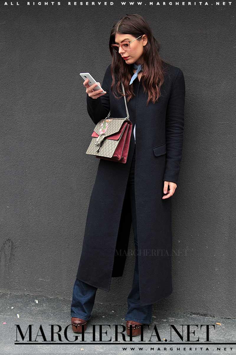 Streetstyle. Il cappotto lungo