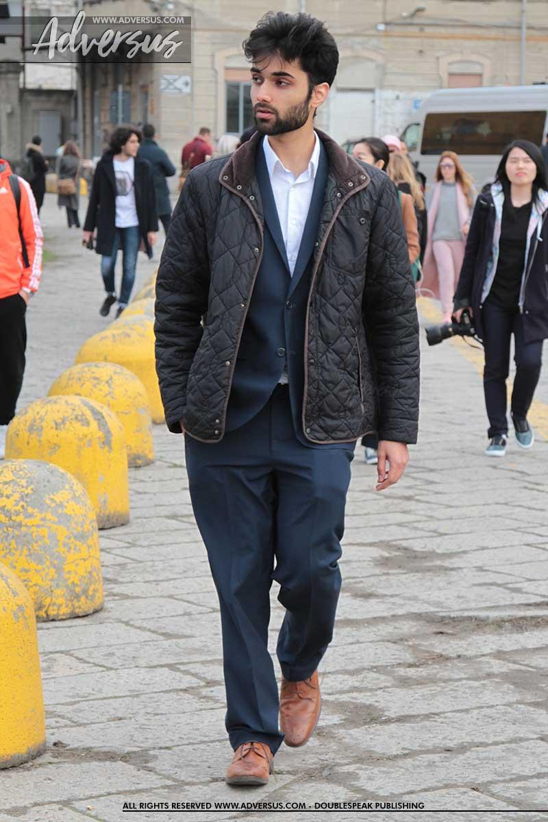 Streetstyle moda uomo a Milano