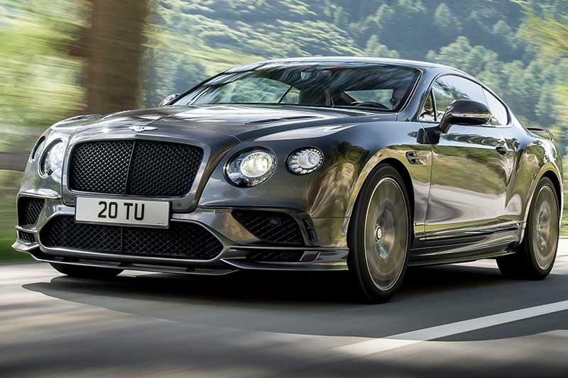 Bentley Continental Supersports. La quattro posti più veloce al mondo