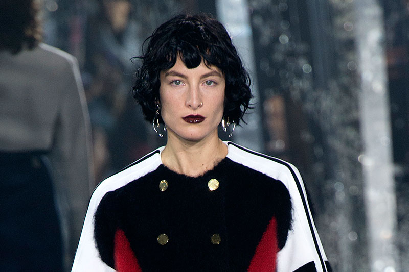 La modella Heather Kemesky per Louis Vuitton, photo: Louis Vuitton FW 2016 2017