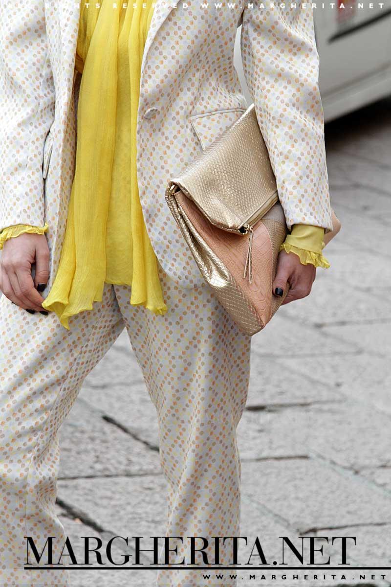 Giallo colore di moda