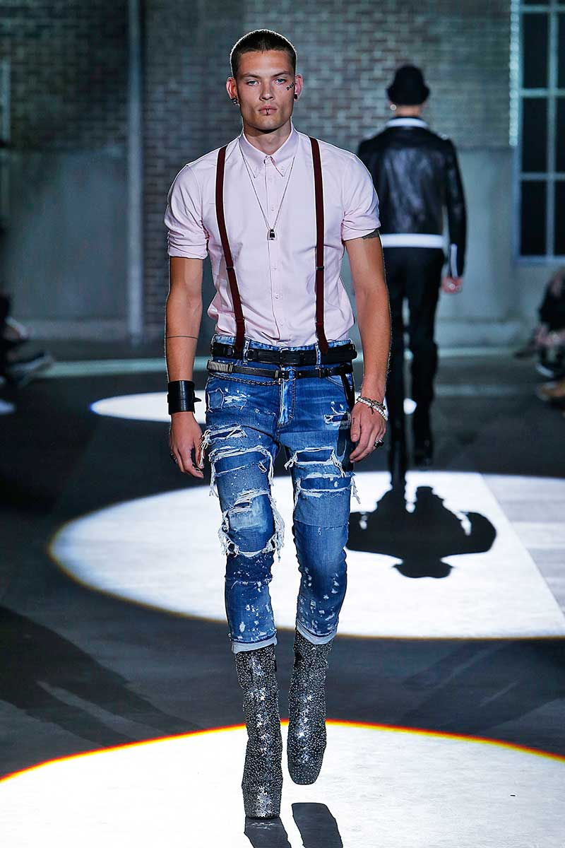 Tendenze jeans uomo estate 2017