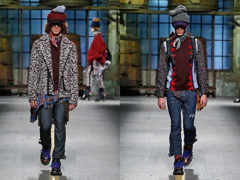 Tendenze jeans uomo autunno inverno 20172018 Tendenze
