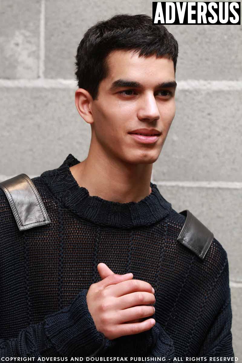 Foto tagli capelli uomo 2018 - Backstage Dirk Bikkembergs - Foto Mauro Pilotto
