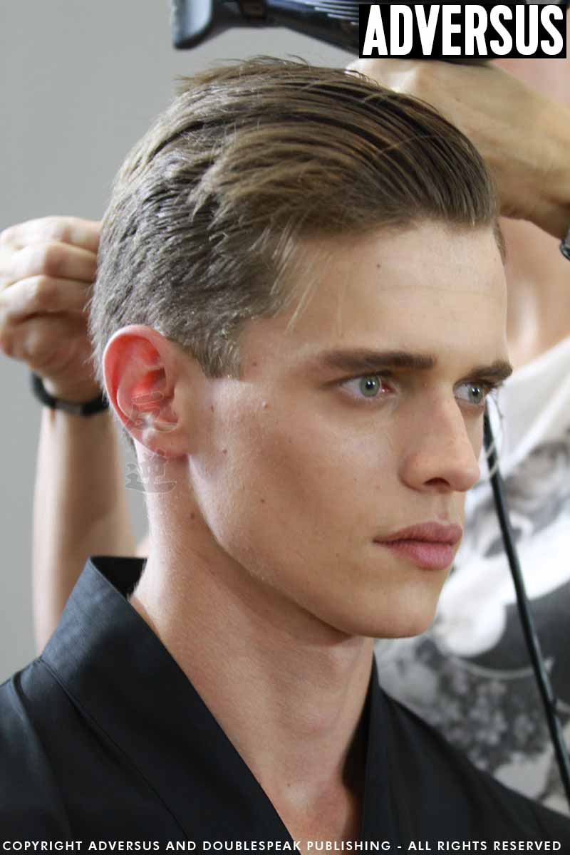 Foto tagli capelli uomo 2018 - Backstage Les Hommes - Foto Mauro Pilotto