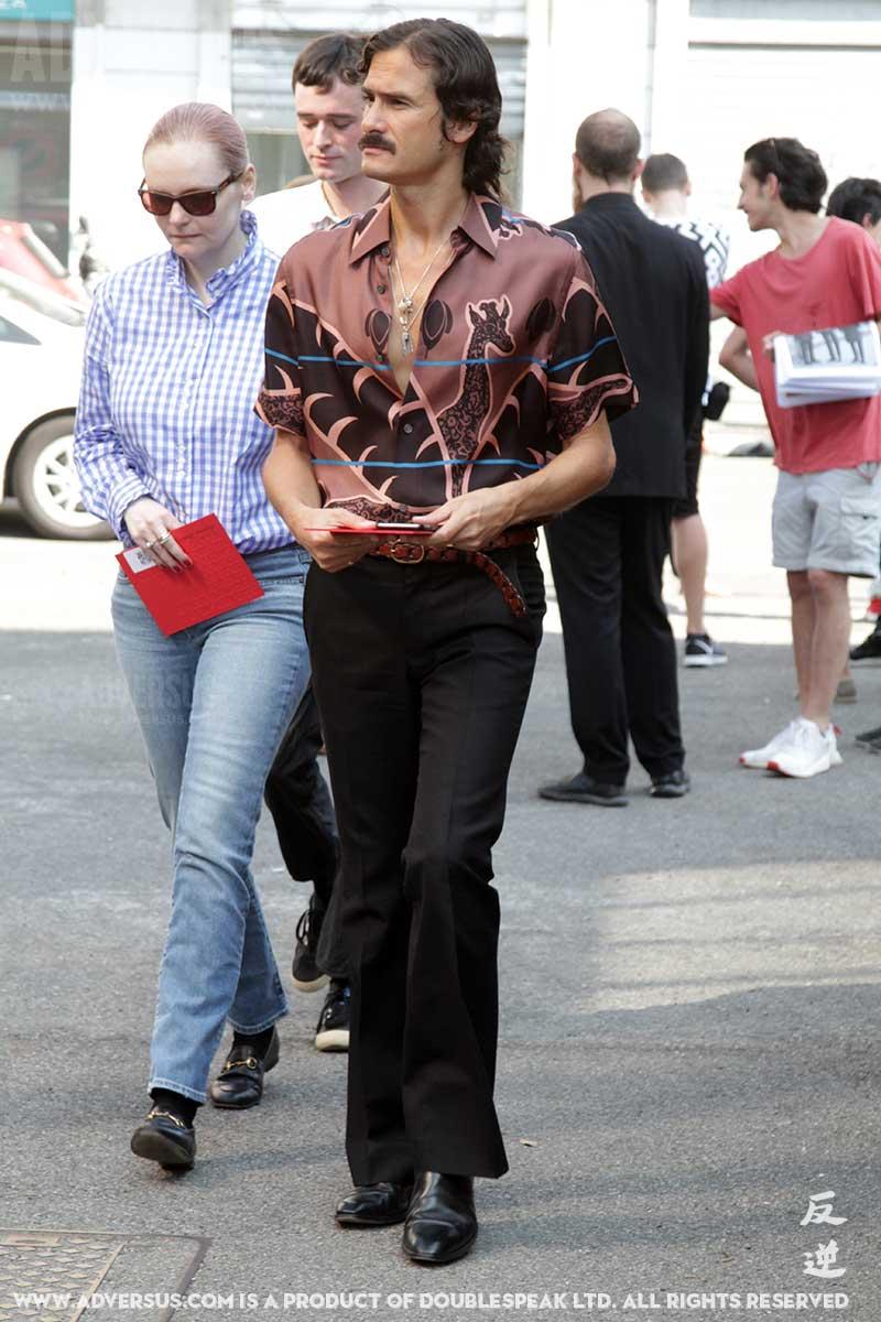 brand new ea62a ca72d Street style uomo. Un look streetstyle moda uomo anni '70