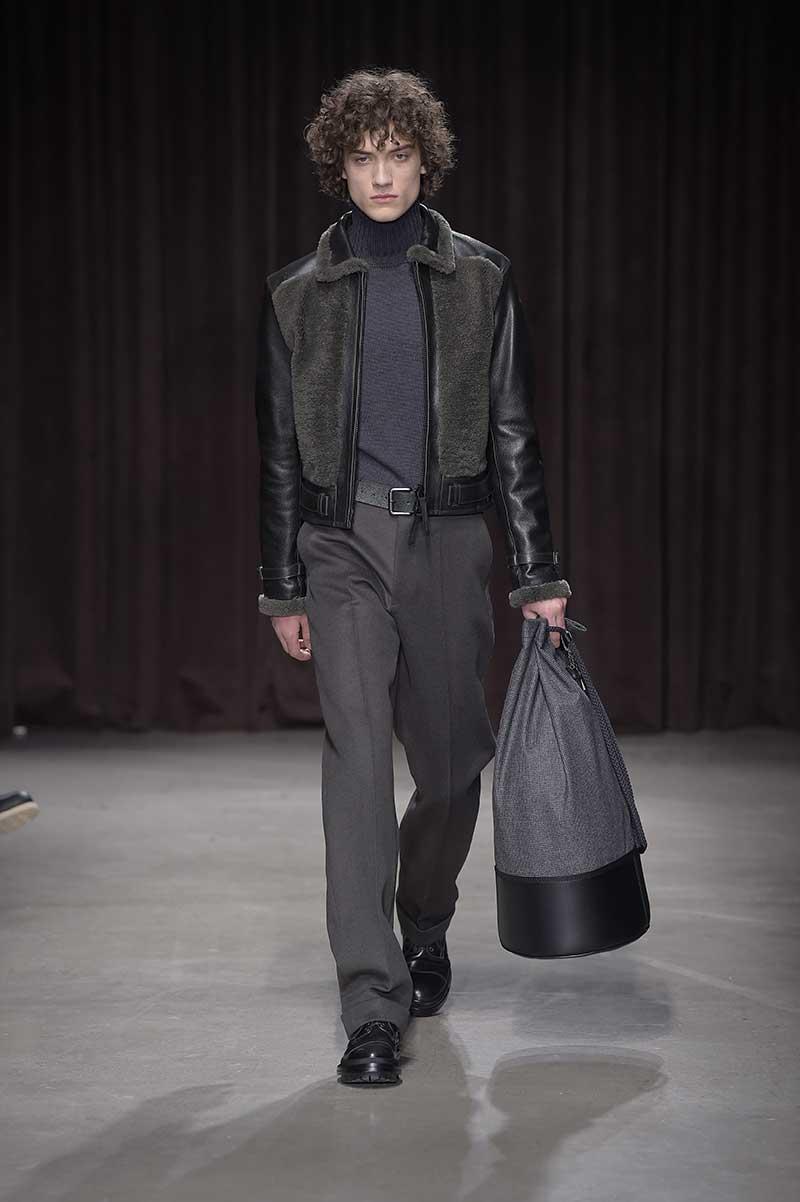 Tendenze moda uomo. Tendenze borse e accessori inverno 2018 - Foto courtesy Hugo Boss