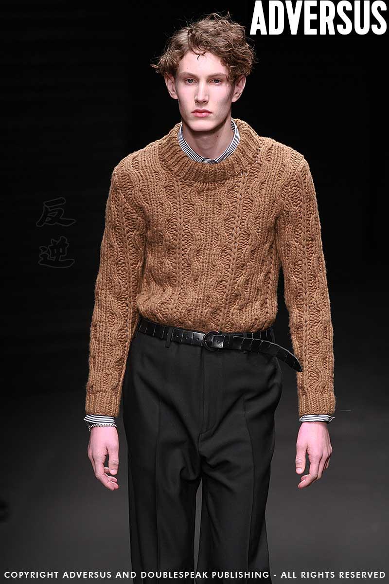 Tendenze moda uomo inverno 2018. Maglioni