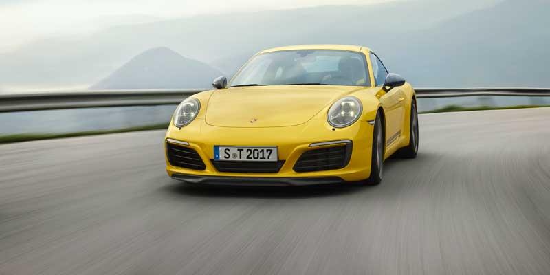 Porsche 911 Carrera T. La nuova Porsche 911