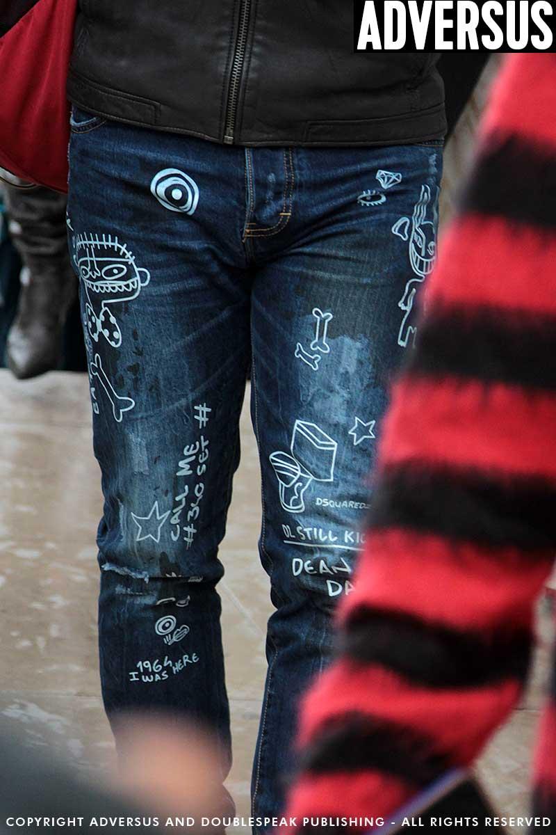 Tendenze jeans e denim uomo autunno inverno 2017 2018 | ADVERSUS