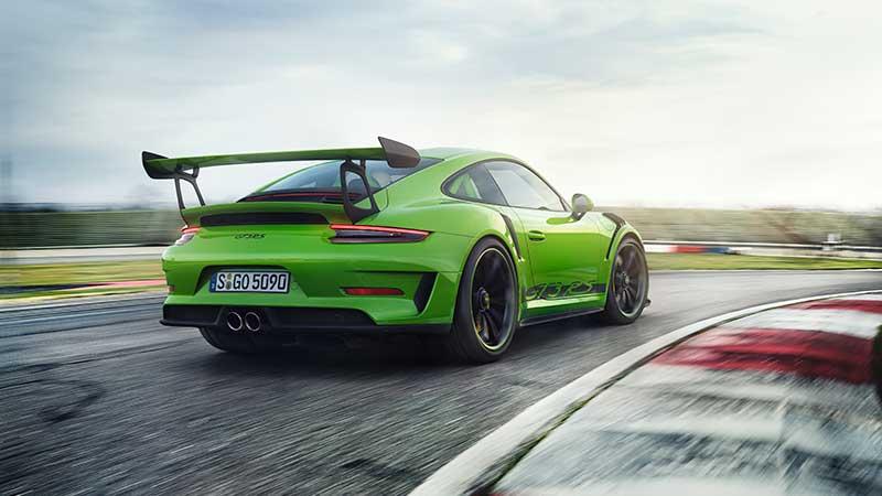 La nuova Porsche 911 GT3 RS. Una chiara vocazione per gli sport motoristici