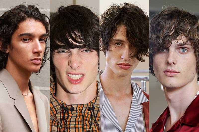 Tendenze capelli 2018. 4 Tagli di capelli per lui. Il trend: volume!
