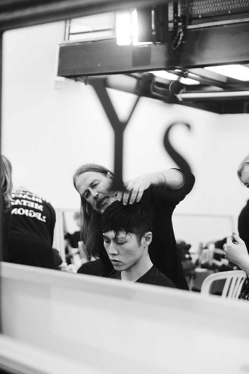 Yohji Yamamoto herfst winter 2018 2019, photo: Elise Toide for YY