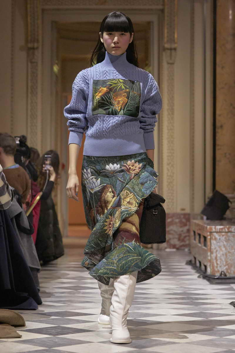 Kenzo Fall Winter 2018 2019 Photo Mohamed-Khalil