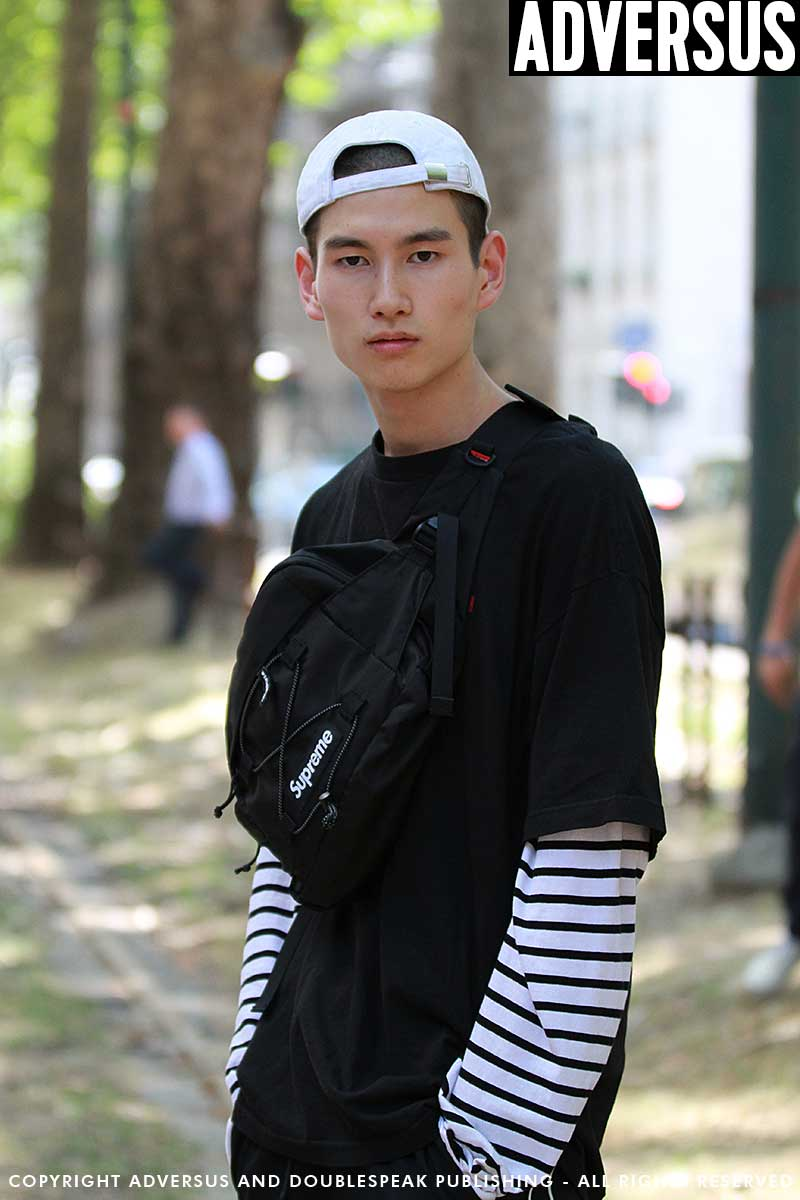 Street style uomo 2018. 4 Look di moda da copiare subito. Ph. Mauro Pilotto