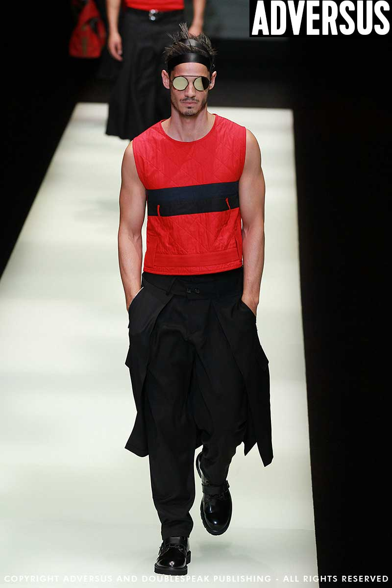 Moda uomo 2018. Emporio Armani