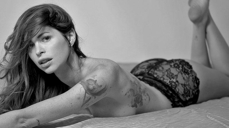 Carola Varini modella di copertina di ADVERSUS - Photo Alessio Cristianini