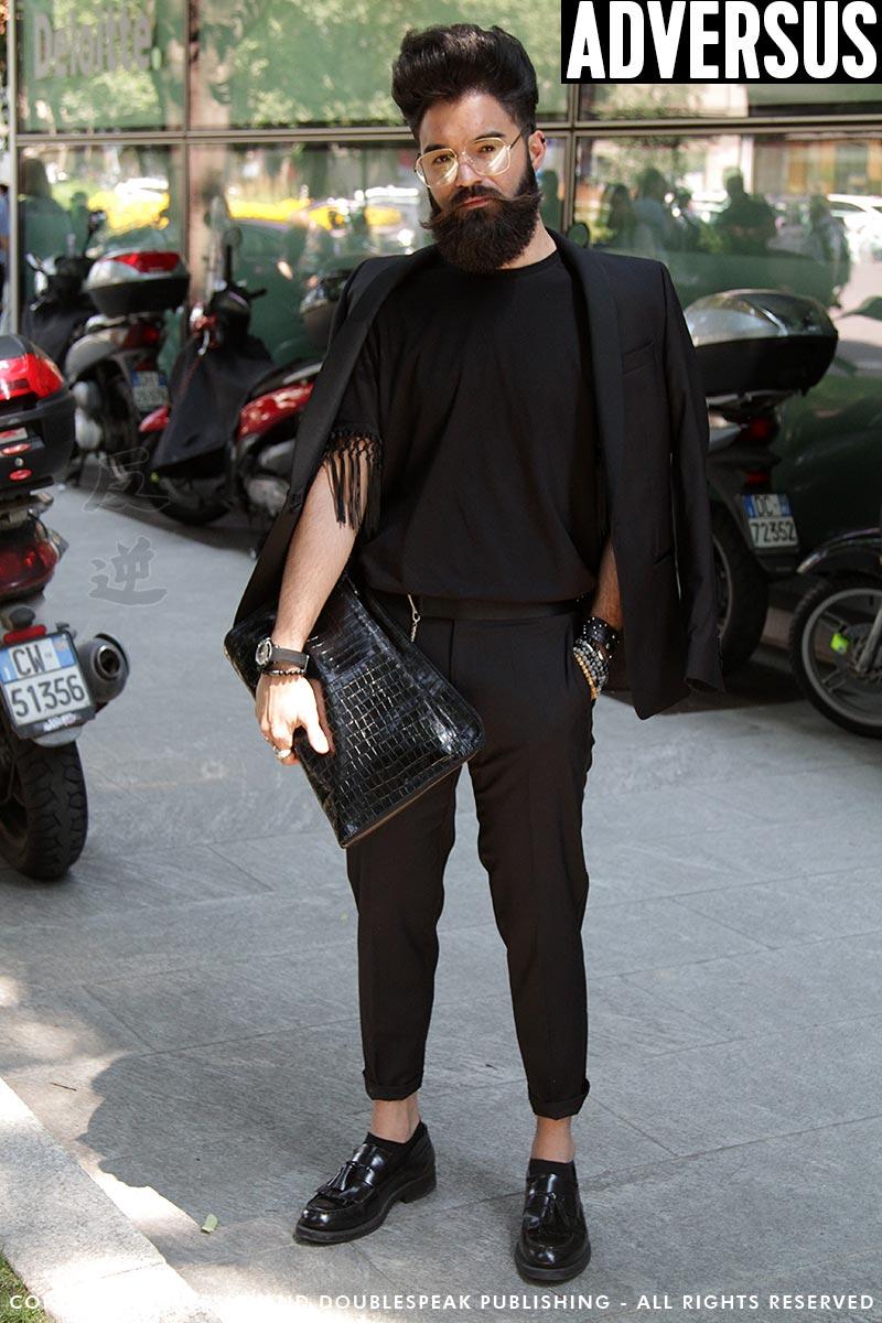 Moda street style. Il look dandy