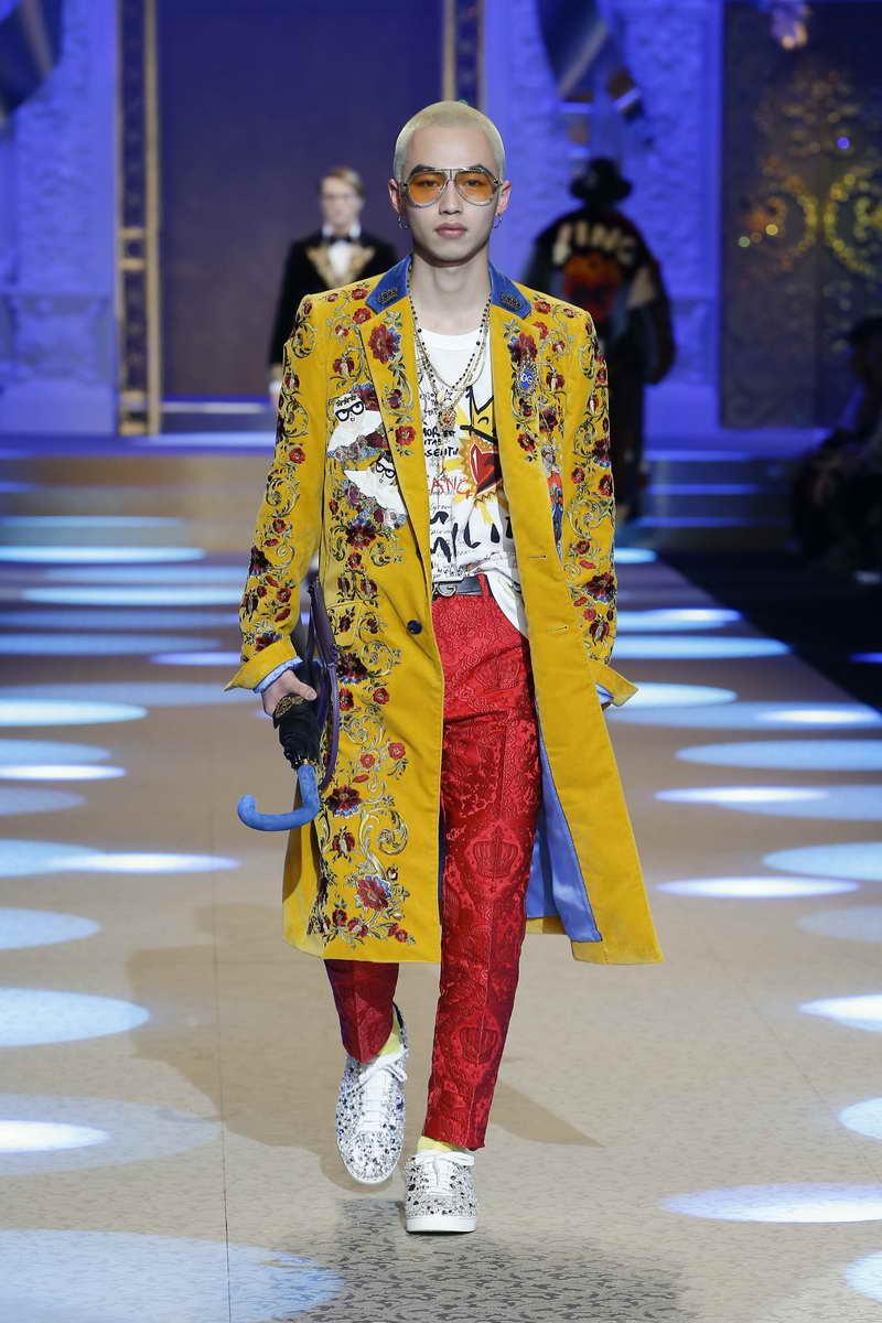 Dolce & Gabbana Uomo Autunno Inverno 2018 2019