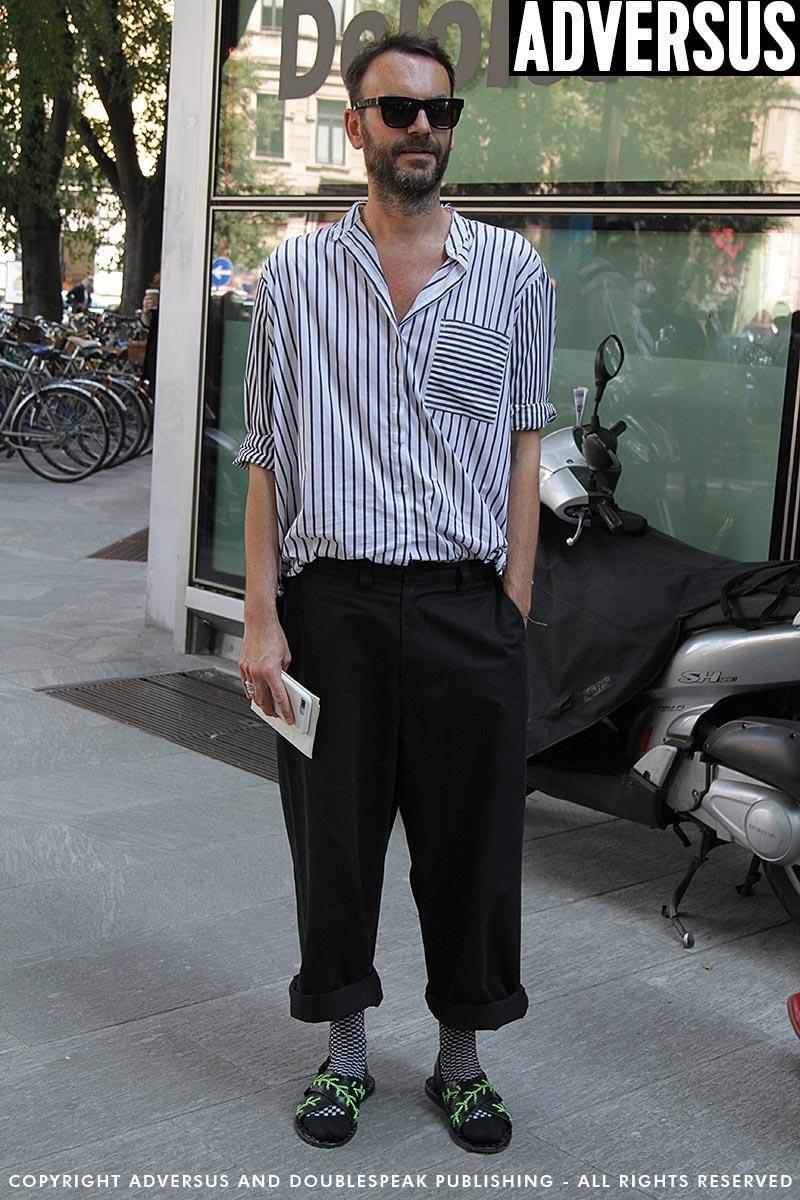 Tendenze scarpe uomo durante la Fashion Week estate 2019