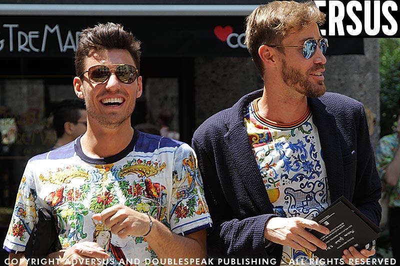 Streetstyle. Tagli capelli uomo durante la Milan Fashion Week estate 2019