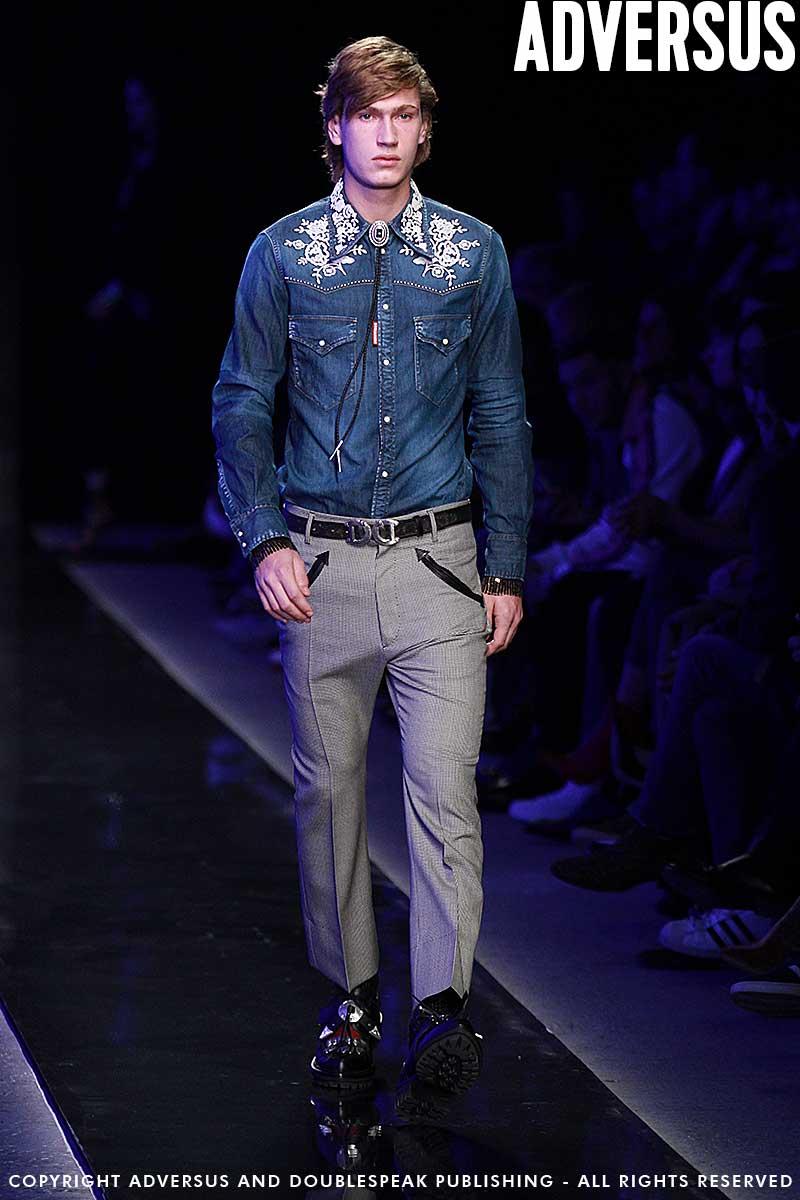 Tendenze moda uomo inverno 2018 2019. Il look da cowboy