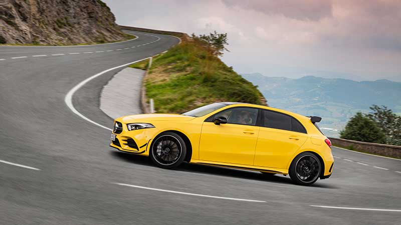 Nuova Mercedes-AMG A 35 4MATIC