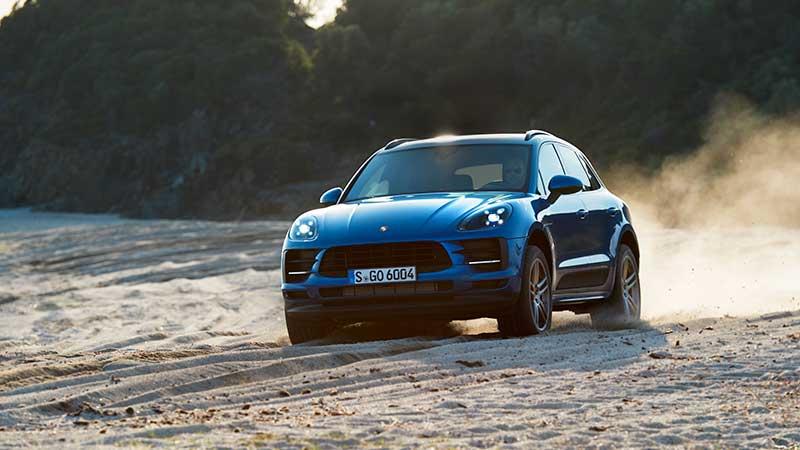 La nuova Porsche Macan debutta in Europa