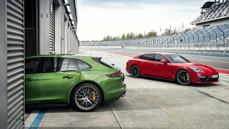 I nuovi modelli GTS: due atleti si uniscono alla famiglia Porsche Panamera