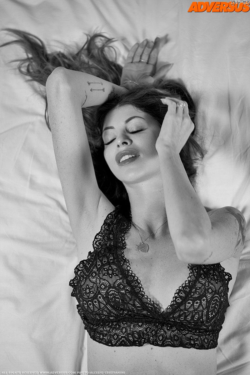 Carola Varini Adversus Cover Model - Photo Alessio Cristianini