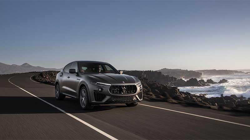 Maserati presenta l'edizione limitata Levante Vulcano