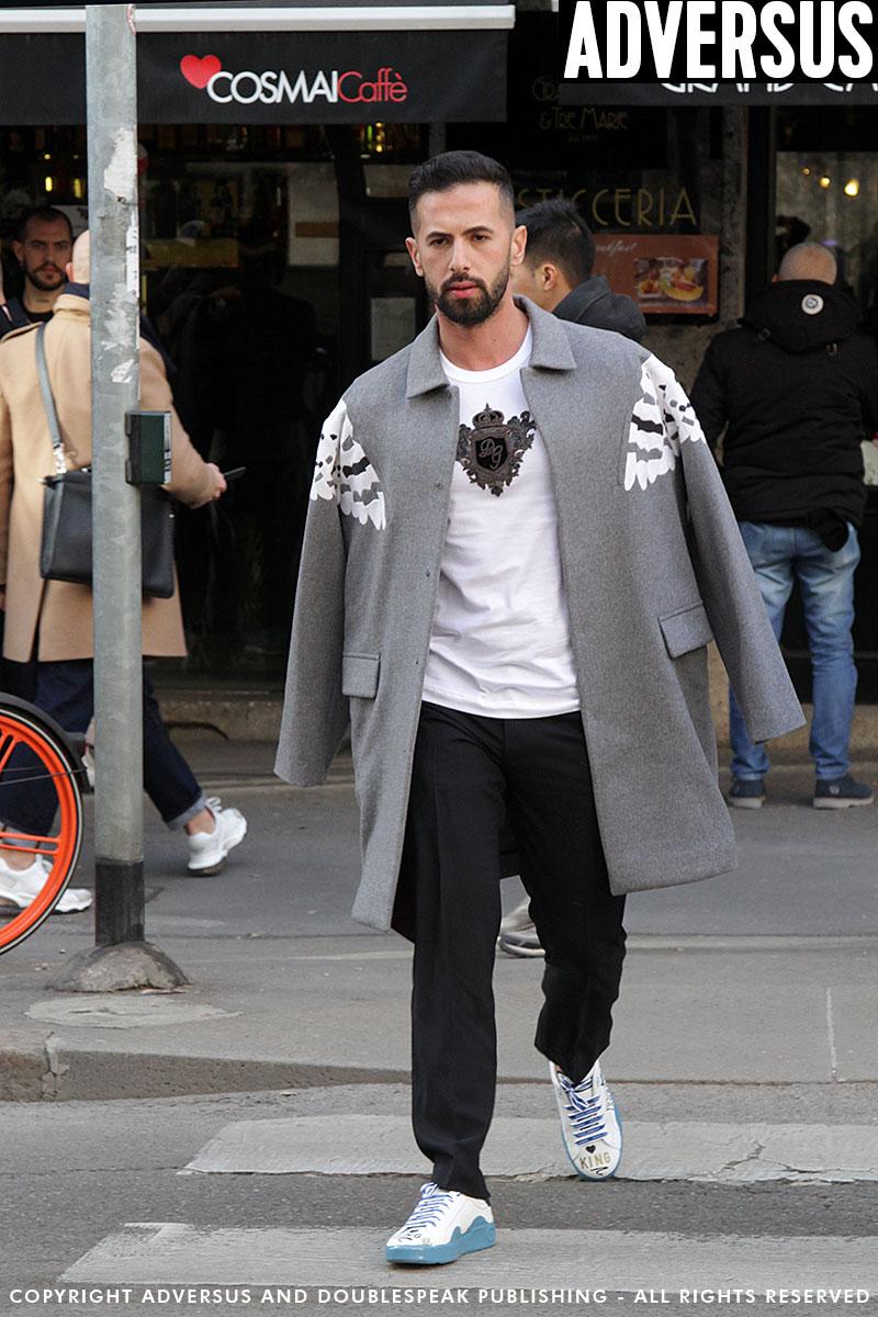 Calendario Uomo 2020.Streetstyle Moda Uomo Milano Moda Uomo Inverno 2019 2020