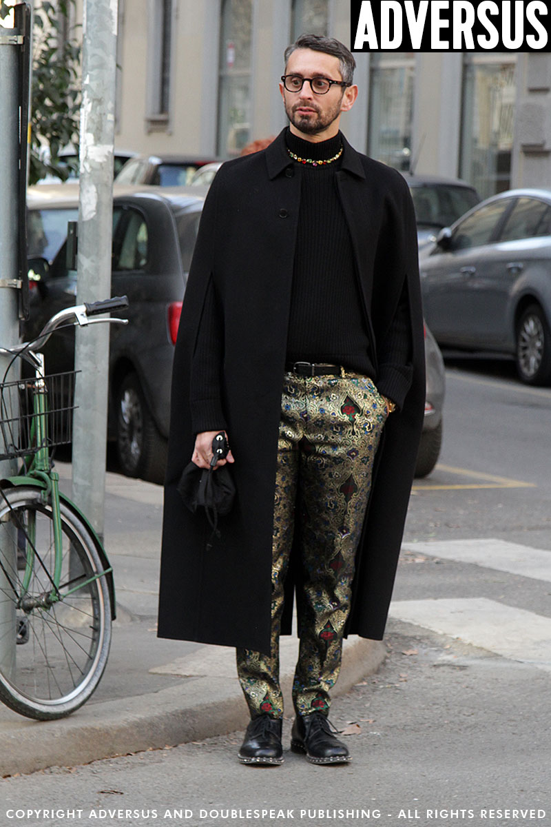 Streetstyle Uomo Milan Fashion Week inverno 2019 2020