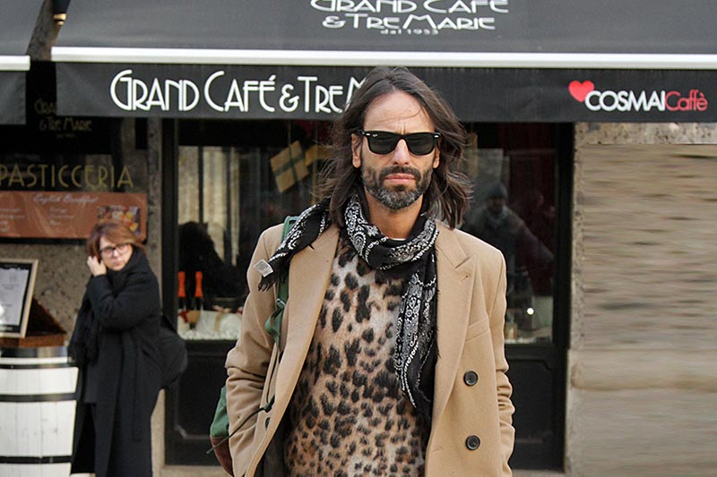 Streetstyle Uomo Milan Fashion Week inverno 2019 2020