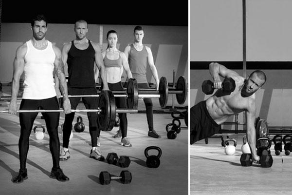 L'allenamento per tonificare i muscoli