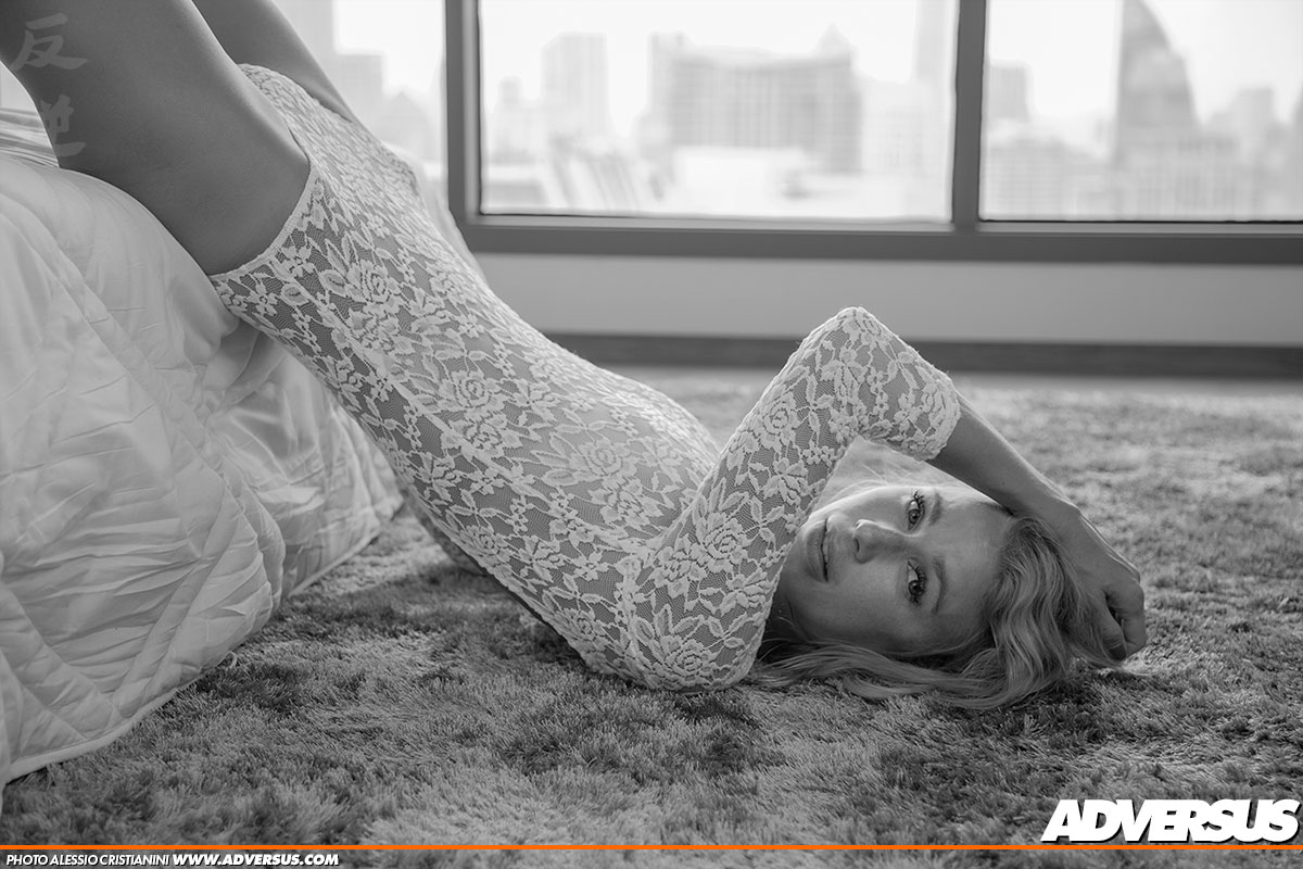 Olga Novoselova ADVERSUS Cover Model - Photo Alessio Cristianini