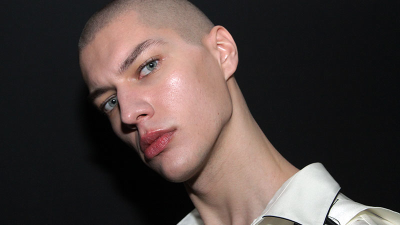Modelli backstage da Bed J.W. Ford- Foto Charlotte Mesman