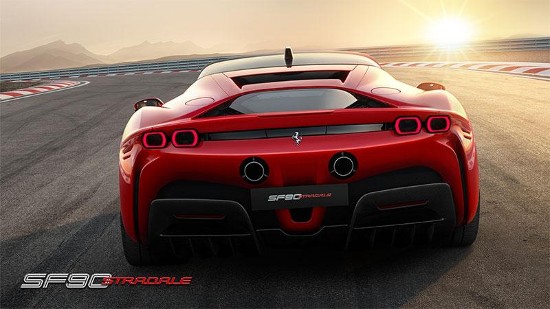 Ferrari SF90 Stradale. La nuova supercar di serie