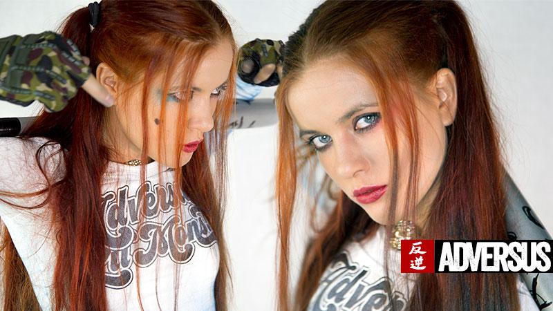 Katrina Dubrovskaya Adversus Cover Model - Foto Alessio Cristianini