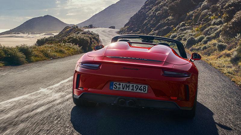 La nuova 911 Speedster va in produzione in serie limitata
